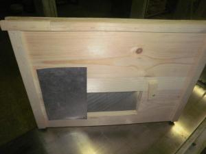 Дървена преградна дъска