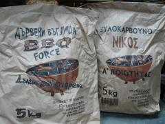 Charcoal for barbecue