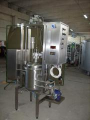 The equipment for the enterprises of the chemical