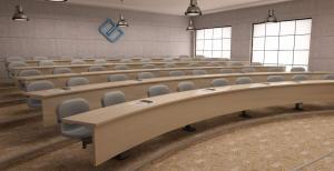 Овална учебна зала, специализирано обзавеждане