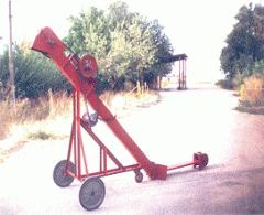 Верижно-лопатков транспортьор