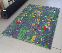 ПРОМОЦИЯ: Детски мокетен килим Пътища