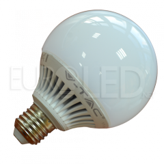 LED Крушка - 13W E27 G95 Глобус Топло Бяла