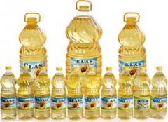 Sunflower Oil refined /crude, bulk and bottles