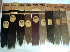 Естествена коса на треса клипс естествени коси estestvena kosa kosi  kosa za udaljavane