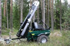 JAPA 355 OFFROAD firewood processor