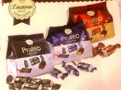 Шоколадови и карамелезирани бонбони