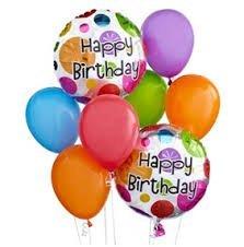Букет от балони за рожден ден 3