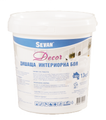 Дишаща интериорна боя - Decor 1.3 kg