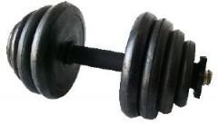 Дъмбели чифт 2х10кг гумени MAXIMA (200258)