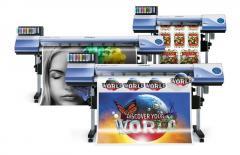 Roland VersaCAMM VS-640i / VS-540i / VS-300i - широкоформатен режещопечатащ принтер