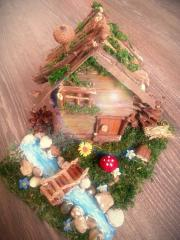 Декоративна къщичка за украса или подарък