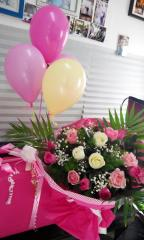 Рози и балони