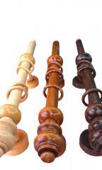 Дървени корнизи за пердета от бук