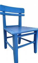 Детски стол - малко столче от дърво