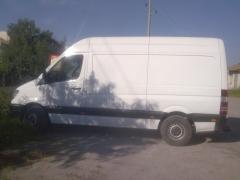 Automobiles cargo with full weight up to 3,5 tonn