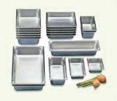 GN съдове, корита за мивки, посуда