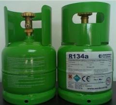 Фреон R134a - 2.5 кг. бутилка