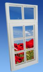 Wooden windows and window-frames