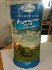 Саламурено сирене ЛУДОГОРСКО СЕЛО от краве мляко