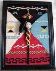 Ръчно тъкано текстилно пано