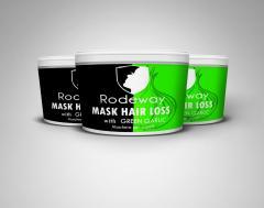 Rodeway Маска за Коса със Зелен Чесън
