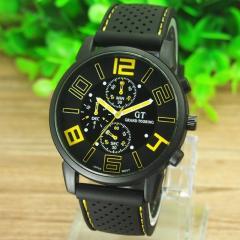 Нов мъжки часовник GT Grand Touring със силиконова