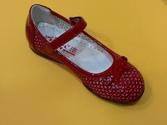 Детски ортопедични обувки от естествена кожа