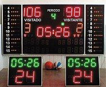 Електронно табло за баскетбол, волейбол, хандбал и мултиспорт