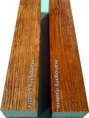 Decorative wood beam/WB41mahogany
