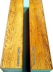 Decorative wood beam/WB23teak
