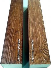 Decorative wood beam/WB50walnut