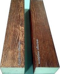 Decorative wood beam/ WB32wenge