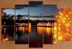 Коледно - новогодишно пано за стена - Коледна природа - VH-425