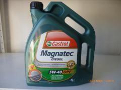 Castrol Magnatec 5w40 Дизел DPF 5 литра