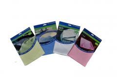 Микрофибърна кърпа  бяла Glass