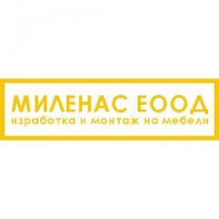 МИЛЕНАС ЕООД – изработка на кухни и мебели по
