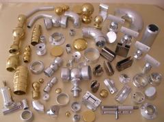 Елементи и профили за алуминиеви парапети
