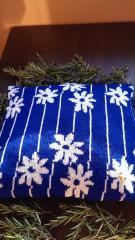 Възглавница за декор, калъфка 85 % вълна, 15 % акрил
