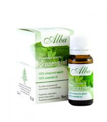 Organic Peppermint essential oil - ALBA - 10gr