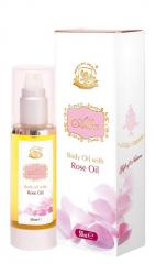 Body oil ALBA with Rose absolutes - 50 gr