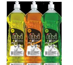 Elvi гел + омекотител 1000 ml