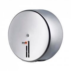 Диспенсър от стомана за индустриална тоалетна хартия Джъмбо