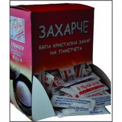 Бяла захар на пакетчета в кутия 200 броя