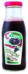 Сок  получен от биологични плодове на Арония и Грозде