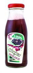 Сок  получен от биологични плодове на Арония и Ябълка