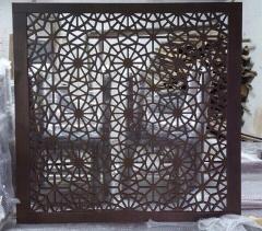 Производство декоративни пано, екрани, решетки от