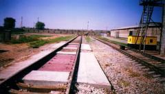 Железопътни везни