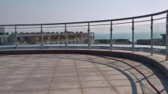 Glass railing and profiles