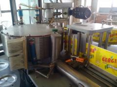 Етикираща машина за  PР  непрекъснат  етикет от ролка